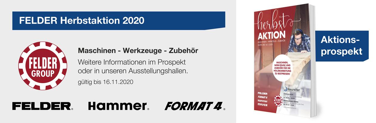 FELDER Herbstaktion 2020
